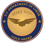 Gold HVMP medallion