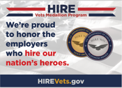 HIRE Vets Medallion Program Postcard