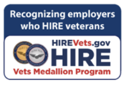 HIRE Vets Medallion Program Graphics